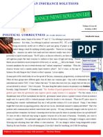 Insurance News You Can Use Newsletter October 2014