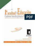 Cuadernos Interdisciplinarios Pedagógicos No. 9