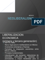 Neoliberalism o Mexico