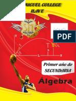 TAPA Algebra 1er Año Sec