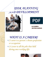 Career Planning & Dvelopment