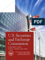 U.S. Securities and Exchange Commission Strategic Plan - Fiscal Year 2014-2018