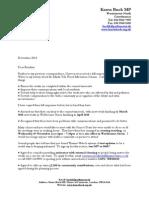 Thames Water Survey Response