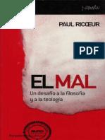 O MAL Paul Ricoeur
