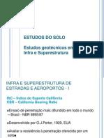 Estudos geotécnicos em obras de Infra e Superestrutura