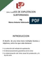 Metodos deExplotacion