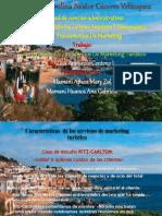 CAP. 2 Caracteriticas de Los Servicios de Markeeting Turisticos