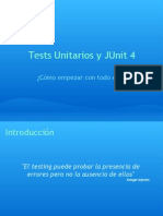 Tests Unitarios y JUnit 4