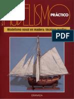 Monografias Modelismo Practico - Modelismo Naval en Madera 2 - Tecnicas Medias