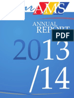 AMS Annual Report, 2013-2014