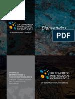 Lanzamiento Congreso Expomin 2014 09 Octubre