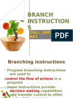 Branch Instruction s