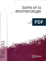 Sartre Et La Phénoménologie