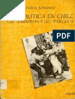 Julieta Kirkwood Ser Politica en Chile