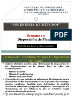 Dispocision de Plantas Ing de metodos