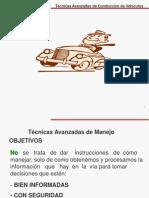 Técnicas de Conducción