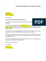 Sample Training Manager Cover Letter