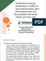 CSR @ Petronas