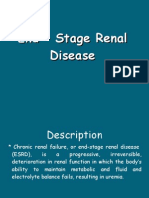 End – Stage Renal Disease-presentation