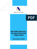Estadísticas Tributarias (11/2009)