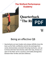 QBs the Ritual Dana Wofford