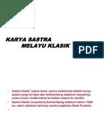 Karya Sastra Melayu Klasik