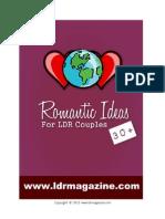 30+ Romantic Ideas for LDR Couples