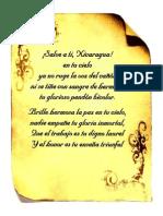 Himno Nacional de Nicragua