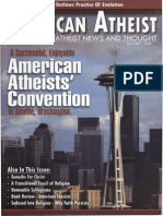 American Atheist Magazine July 2007
