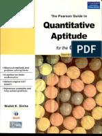 The Pearson Guide to Quantitative Aptitude for CAT 2e