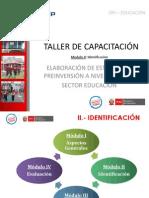A. Identificación - Procedimiento MOD3