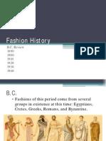 fashion history 1890 to 1940