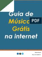 eBook - Guia de Músicas Grátis Na Internet