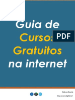 eBook - Guia de Cursos Gratuitos Na Internet