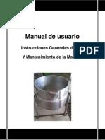 Manual de Usuario marmita