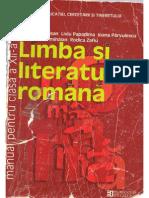 Manual Limba Si Literatura Romana clasa a Xll-a Editura Humanitas Educational