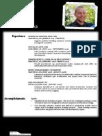 updated resume - november 2014