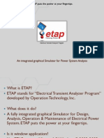 ETAP Presentation for Education