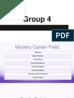 career exploration presentation