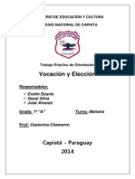 Vocación y Elección