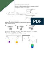 Aplicaciones de Diagrama Cuerpo Libre
