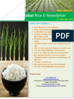 4th November,2014 Daily Global Rice E-Newsletter by Riceplus Magazine