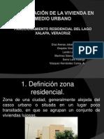 Investigación de La Vivienda en Medio Urbano