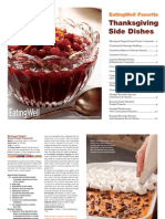EatingWell - Thanksgiving Side Dish Cookbook