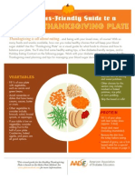 A Diabetes-Friendly Guide to a Healthy Thanksgiving Plate