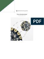Flora Accelerometer