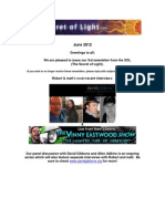 The Secret of Light Newsletter - June 2012