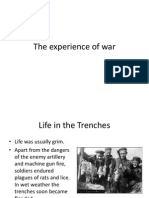 The Experience of War Lesson 1