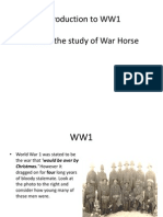Intro to WW1 - Lesson 1