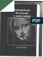 8.2. Le Breton. Antropologia Del Cuerpo